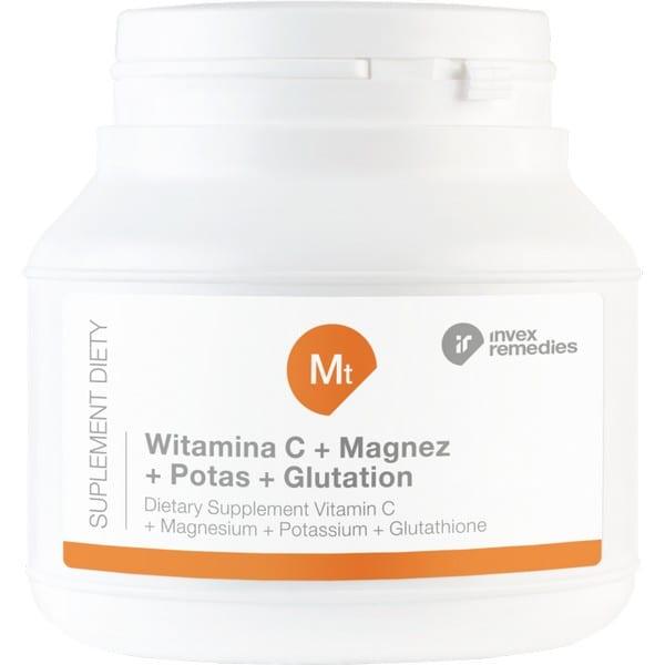 Mt witamina C magnez potas glutation 150g