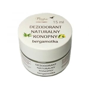 Naturalny dezodorant konopny w kremie Bergamotka Majru