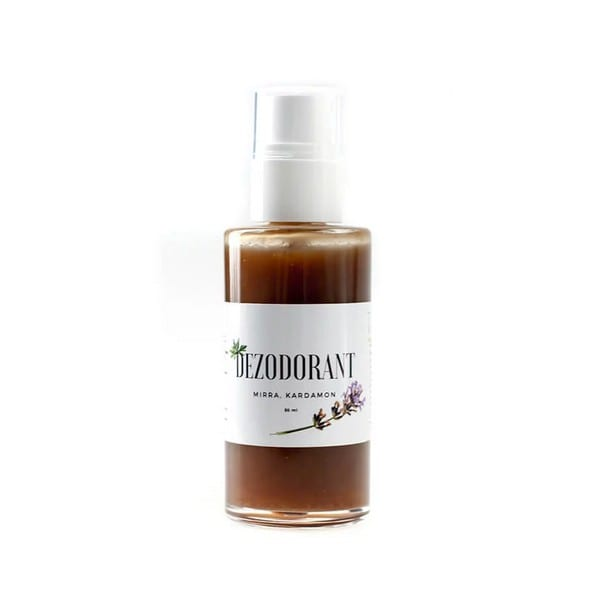 Naturalny dezodorant mirra i kardamon Trawiaste