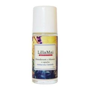Dezodorant z ałunem o zapachu rozmarynu i lawendy LillaMai