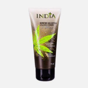 Krem do stóp konopny ochronny India Cosmetics