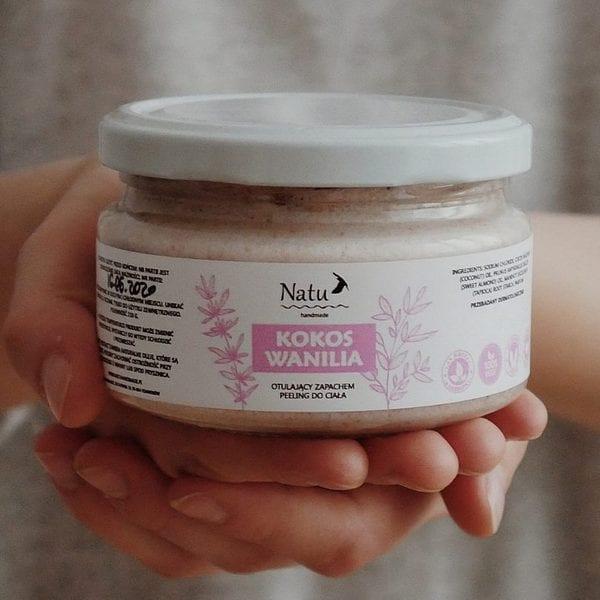 Naturalny peeling kokos wanilia Natu