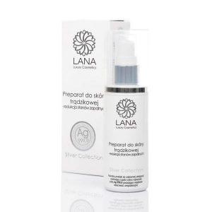 Preparat ze srebrem do skóry trądzikowej LANA Luxury