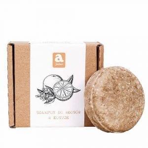 szampon-do-włosów-pomarańcza w kostce Ajeden