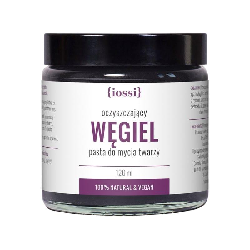 węgiel-oczyszczająca-pasta-do-mycia-twarzy Iossi