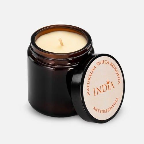 świeca-zapachowa-konopna-antydepresyjna-India Cosmetics