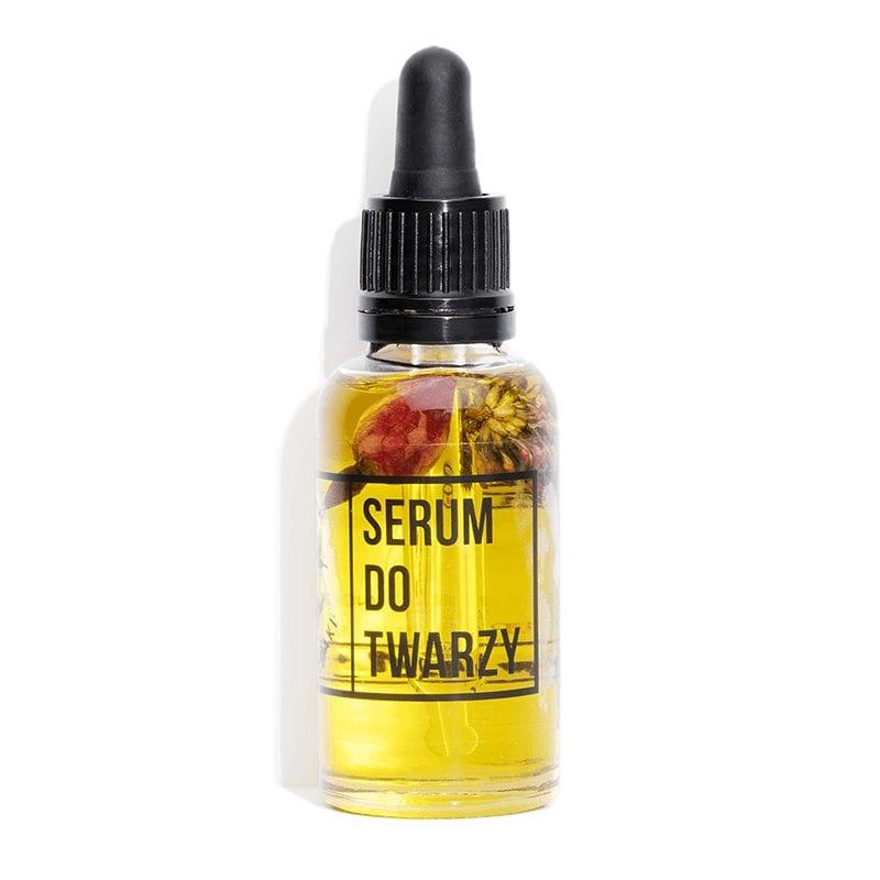 serum do twarzy z kwatem koniczyny i witaminą C mydlarnia cztery szpaki