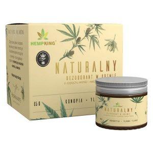 Naturalny dezodorant konopny CBD o zapachu wanilii i ylang HempKing
