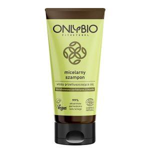 Szampon micelarny do włosów przetłuszczających się 200ml OnlyBio