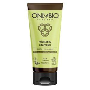 Szampon micelarny do włosów suchych i zniszczonych 200ml OnlyBio