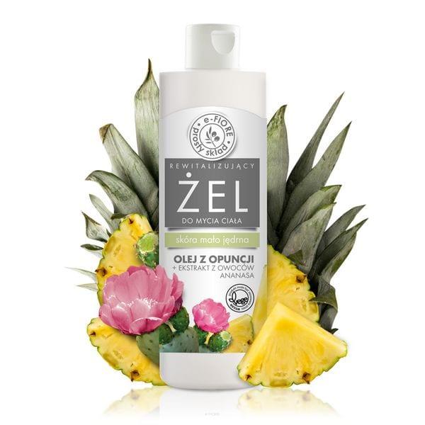 Żel do mycia ciała z opuncją figową i ananasem 250ml E-Fiore