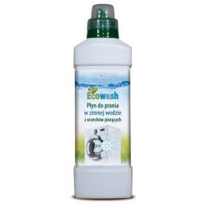 Płyn do prania w zimnej wodzie z orzechów piorących naturalny EcoWash 1kg Ecovariant