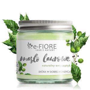 Masło naturalne laurowe z olejem laurowym antyseptyczne na problemy skórne 120ml E-Fiore