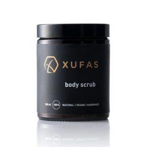 Naturalny scrub do ciała z olejem z migdałów ziemnych Chufa Xufas