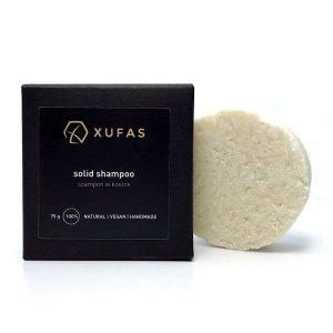 Naturalny szampon do włosów z olejem z migdałów ziemnych Chufa 75g Xufas