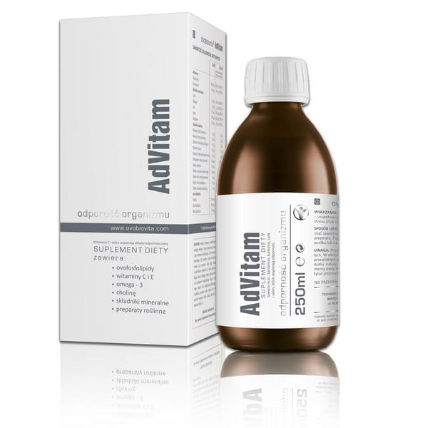 Ovobiovita Advitam 250ml