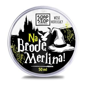 Wosk modelujący do brody Na Brodę Merlina! 50ml Soap Szop