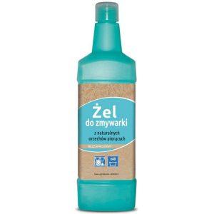 żel do zmywarki-z orzechów piorących-do mycia naczyń-zamiast tabletek-bezzapachowy-naturalny-1kg-40 cykli-Ecovariant