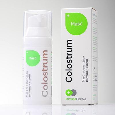 Colostrum maść regenerująca Immuno First Aid 40ml Colostrum Polska