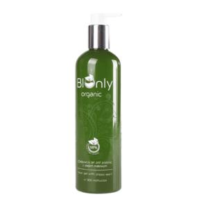 łagodny-naturalny-żel pod prysznic-odżywczy-z olejem makowym-słonecznikowym-rumiankiem-wegański-bionly-organic-300ml