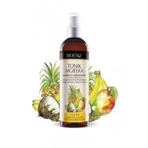 bioetiq-tonik-mgielka-lagodzaco-normalizujacy-owoce-tropikalne-woda termalna-mango-ananas-kokos-banan