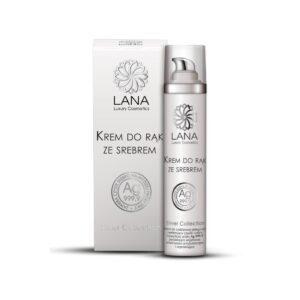 nawilżający-krem-do-rąk-ze srebrem-koloidalnym-lana-luxury-cosmetics-natura-medica