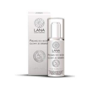 odżywiający-peeling-wcierka-do-skóry głowy-włosów-z łupiezem-azs-ze srebrem-koloidalnym-lana-luxury-cosmetics-natura-medica