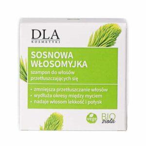 Sosnowa Włosomyjka Szampon w Kostce do Włosów Przetłuszczających Się 35g Kosmetyki DLA