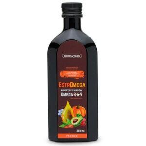 Bioestry Kwasów Omega 3 6 9 Estromega Premium w Płynie 250ml Skoczylas