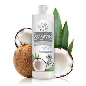 Odżywczy Szampon Kokos Do Włosów Suchych i Zniszczonych 250ml E-Fiore
