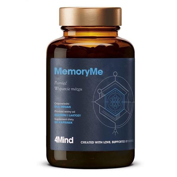 MemoryMe 4Mind Poprawa Pamięci i Koncentracji 90kaps HealthLabs
